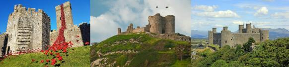 Attractions castles harlech castle criccieth castle